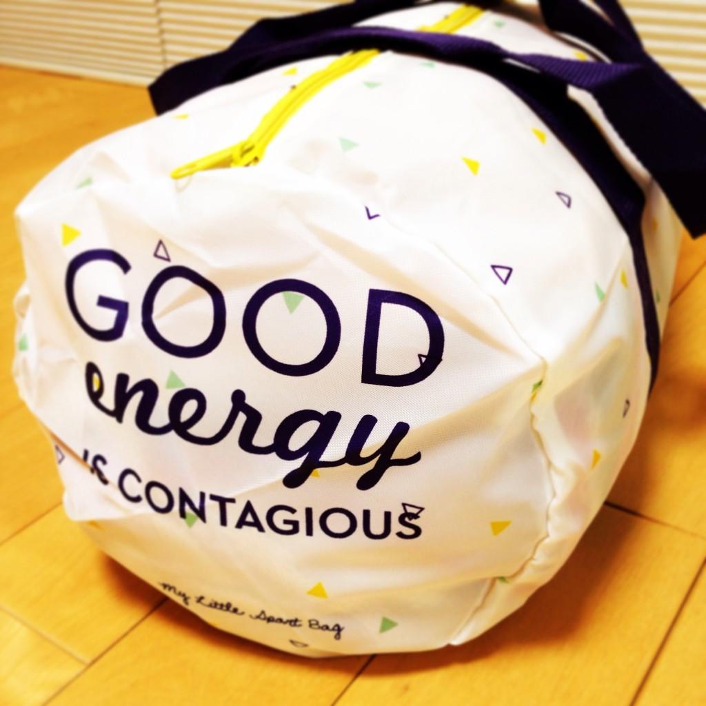 マイリトルエナジーボックス 2015年1月 スポーツバッグ