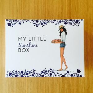 2015年5月マイリトルボックス「MY LITTLE sunshine BOX」中身・感想。