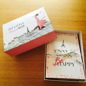2016 2月 マイリトルボックス my little happy box ランコムコラボ 感想 写真 レビュー