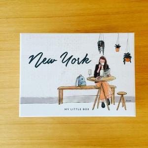 マイリトルボックス 2016 10月 ブルックリン ニューヨーク レビュー 口コミ ブログ 中身