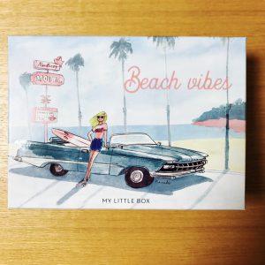 2017年6月マイリトルボックス「Beach vibes」中身の感想・レビュー。